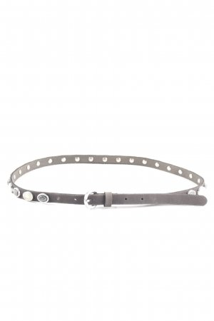 Esprit Leather Belt light grey casual look