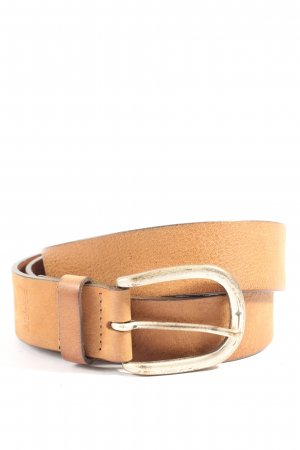 Esprit Leather Belt light orange casual look