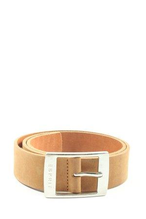 Esprit Cintura di pelle marrone stile casual