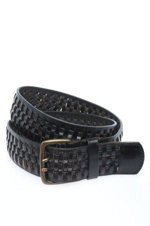 Esprit Cintura di pelle nero stile casual