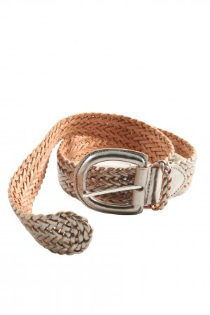 Esprit Leather Belt nude-silver-colored casual look