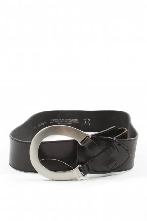Esprit Ledergürtel schwarz Elegant