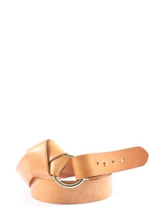 Esprit Leather Belt light orange casual look