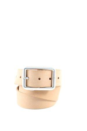 Esprit Cintura di pelle crema stile casual