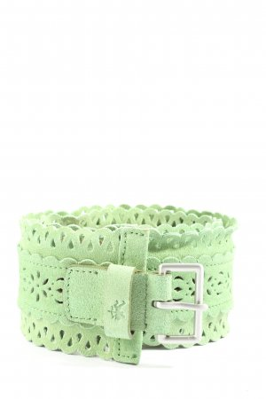 Esprit Leather Belt green casual look