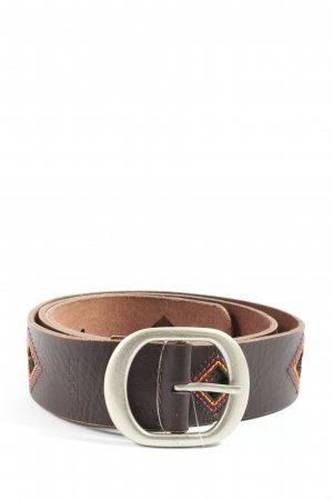 Esprit Leather Belt brown casual look