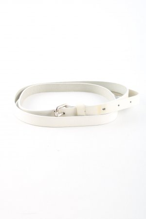 Esprit Leather Belt white casual look