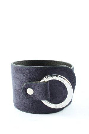 Esprit Leather Belt blue casual look