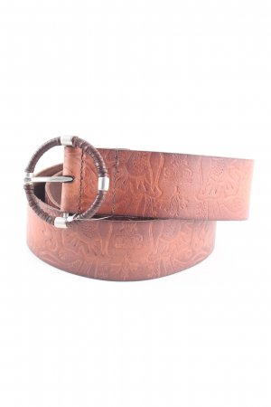 Esprit Leather Belt brown business style