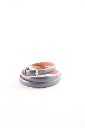 Esprit Leather Belt light orange-grey business style