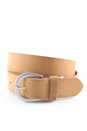 Esprit Leather Belt nude leather