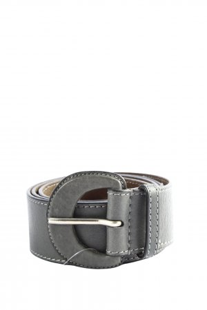 Esprit Faux Leather Belt light grey casual look