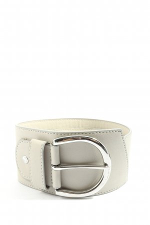 Esprit Faux Leather Belt natural white casual look