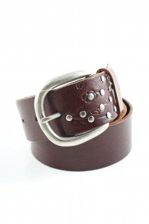Esprit Leather Belt brown casual look
