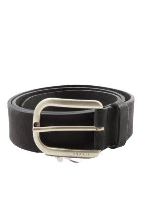 Esprit Cintura in ecopelle nero stile casual
