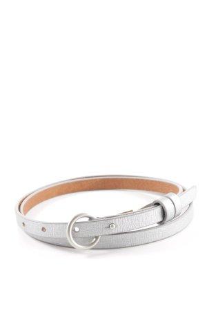 """Esprit Faux Leather Belt """"Esprit Lederimitatgürtel"""" silver-colored"""