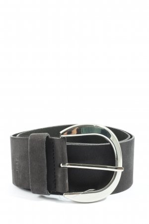 Esprit Faux Leather Belt black casual look