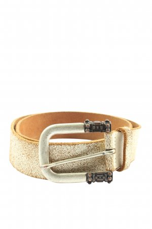 Esprit Faux Leather Belt brown-white casual look