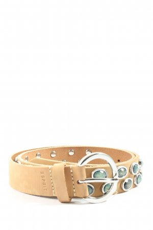 Esprit Faux Leather Belt cream-turquoise casual look
