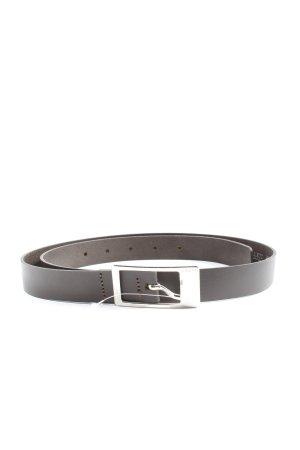 Esprit Faux Leather Belt black brown business style
