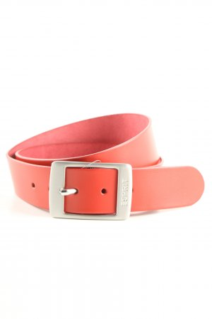 Esprit Faux Leather Belt red casual look