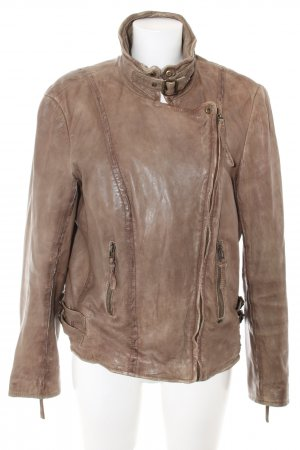 Esprit Leather Jacket brown casual look