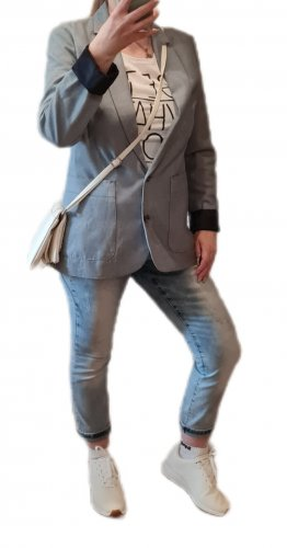 Esprit Klassischer Blazer azure