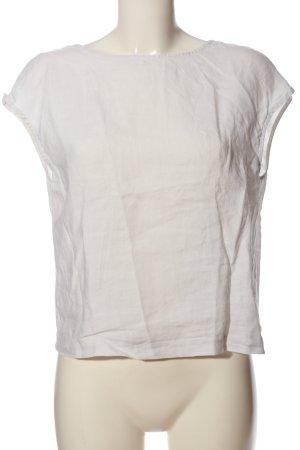 Esprit Blouse en lin blanc style décontracté