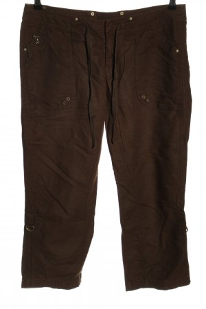 Esprit Linnen broek bruin casual uitstraling