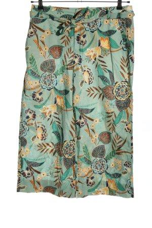 Esprit Pantalone di lino stampa integrale stile casual