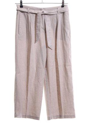 Esprit Pantalone di lino bianco sporco stile casual