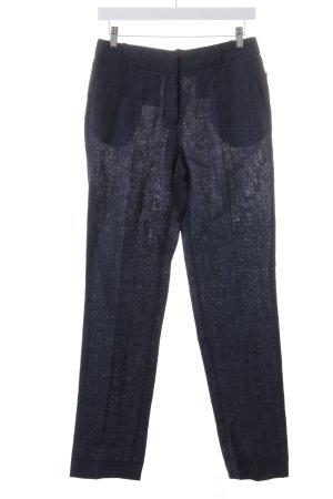 Esprit Pantalone di lino blu scuro Lino