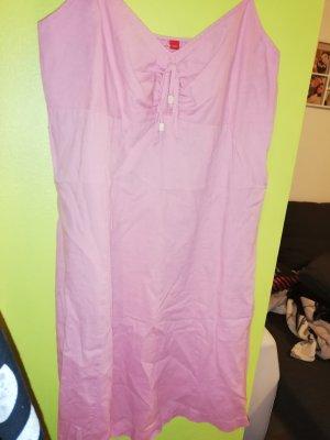 Esprit Vestido tipo túnica rosa