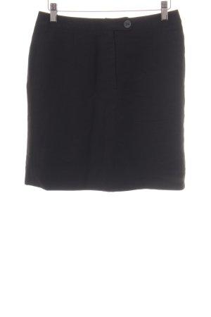 Esprit Leinenrock schwarz schlichter Stil