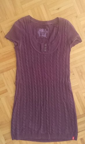 Edc Esprit Woolen Dress grey lilac