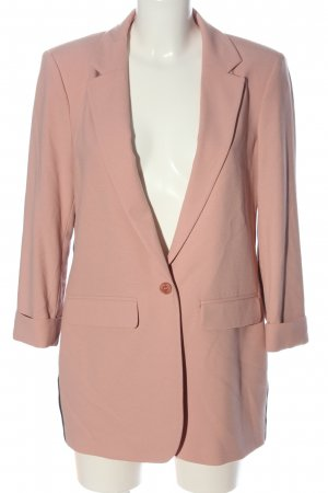 Esprit Long-Blazer pink-schwarz Casual-Look