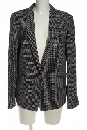 Esprit Long-Blazer schwarz-weiß Business-Look