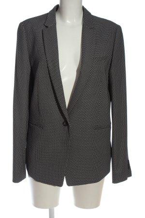 Esprit Blazer long noir-blanc style d'affaires