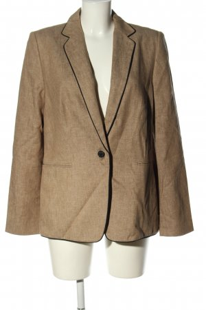 Esprit Long-Blazer braun Webmuster Business-Look