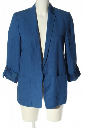 Esprit Long-Blazer blau Casual-Look