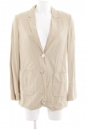 Esprit Long-Blazer creme Casual-Look