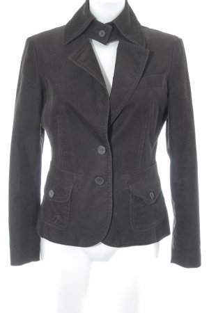 Esprit Long-Blazer dunkelbraun Casual-Look
