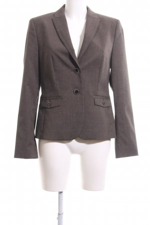 Esprit Long-Blazer bronzefarben meliert Business-Look
