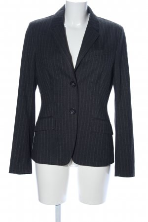 Esprit Long-Blazer hellgrau Allover-Druck Business-Look
