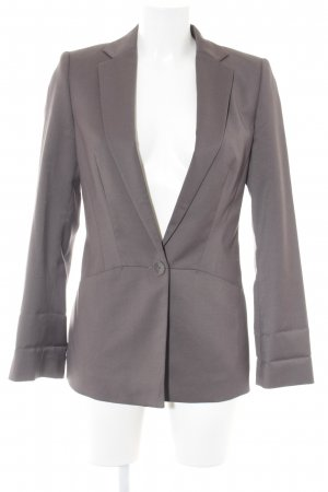 Esprit Long-Blazer graubraun Business-Look