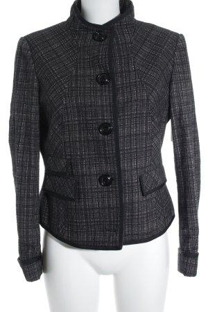 Esprit Long-Blazer schwarz-taupe meliert Casual-Look