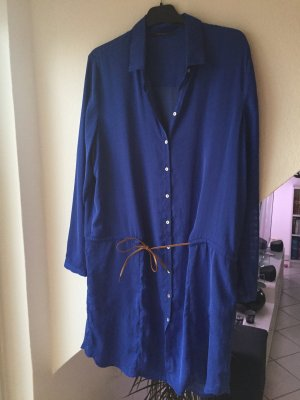 Esprit Long Blouse blue polyester