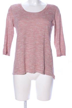 Esprit Longpullover pink meliert Casual-Look