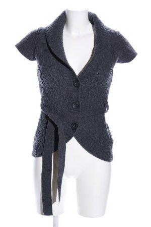 Esprit Cardigan long gris clair torsades style décontracté