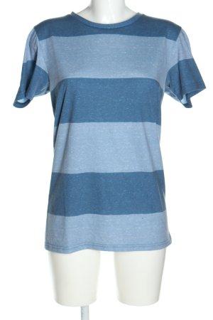 Esprit Longshirt blau Allover-Druck Casual-Look